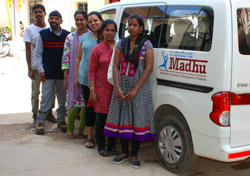 MADHU Mobile Diabetic Clinic: Caring for Urban Slums in Bangalore