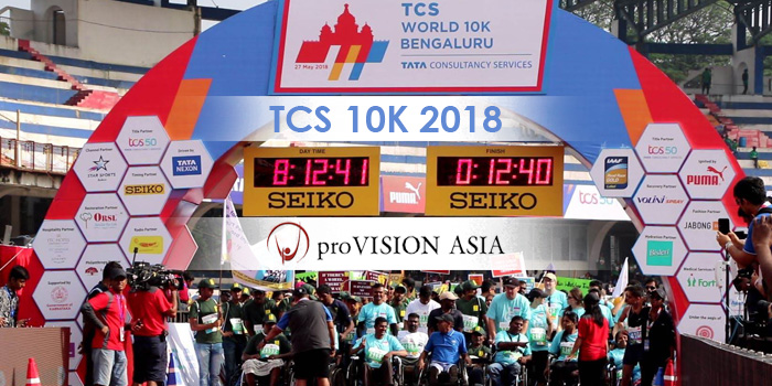TCS World 10K: proVISION ASIA's Biggest Fundraiser for the Disabled in Bangalore